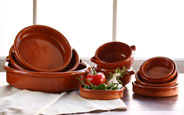 Terra Cotta Clay Cazuela Cookware