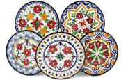 Hand-Painted Plates from Valencia