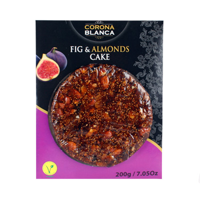 Artisan Freshly Pressed Fig Cake with Almonds FT027
