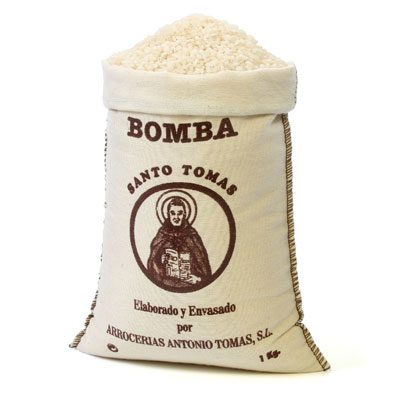 RC003 - Bomba Rice D.O in Textile Bag