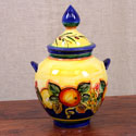 ALC-A2-FRA - Hand Made Blue-Fruit Style Amphora