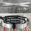 BN104 - Stainless Steel Wind Screen For All Paella Burners