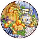 CER-BODEGONB3-31 - Decorative Hand Painted Plate