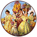 CER-SOROLLA2-31 - Decorative Hand Painted Plate