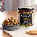 OL031 - Arbequina Olives in Glass Jar