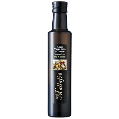 OO028 - Mallafré Gourmet Olive Oil Pressed with Thyme